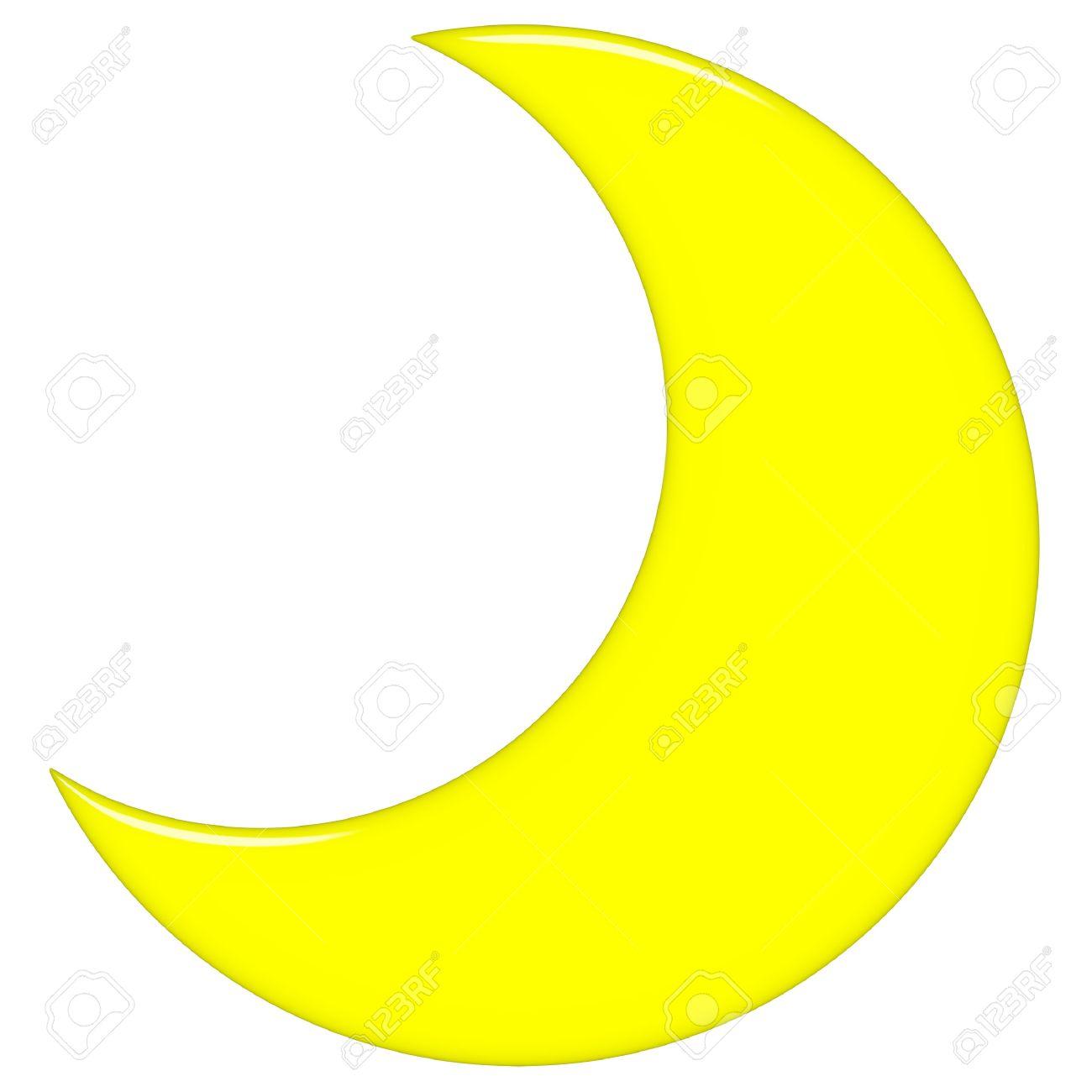 Half Moon Clipart - Moon Clip Art
