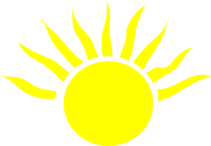 Half Sun Clipart Black And ..-Half Sun Clipart Black And ..-8