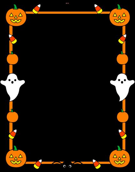 Halloween Border Clipart-halloween border clipart-7