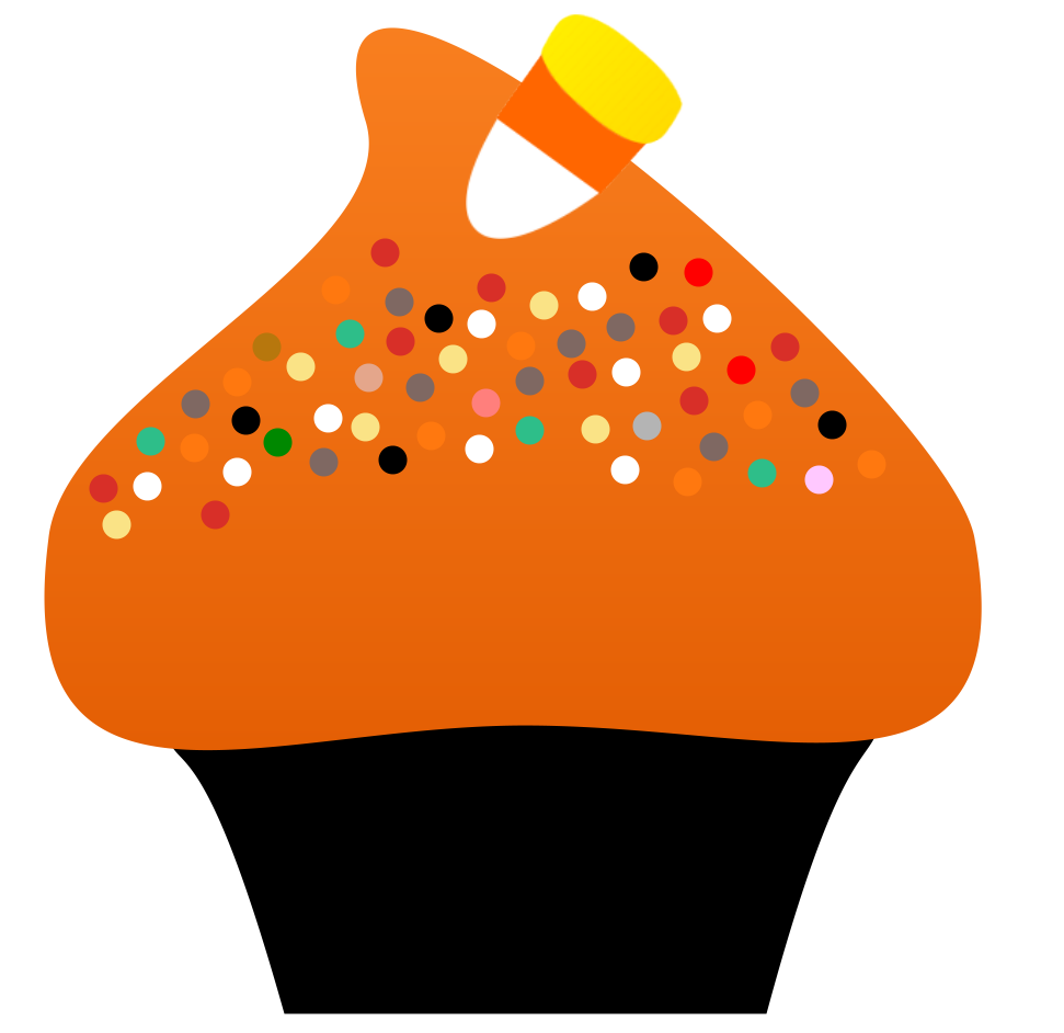halloween candy border clipart