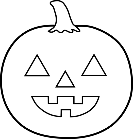 halloween clip art black and  - Black And White Halloween Clipart
