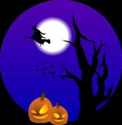 halloween full moon% .