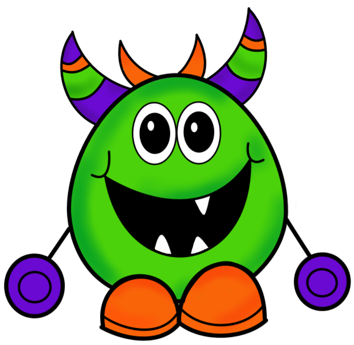 halloween monster clipart-halloween monster clipart-10