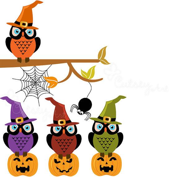 Halloween Owl Clipart-halloween owl clipart-6