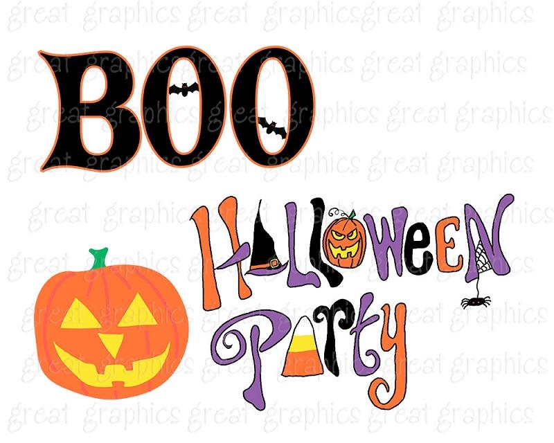 halloween party clip art-halloween party clip art-3