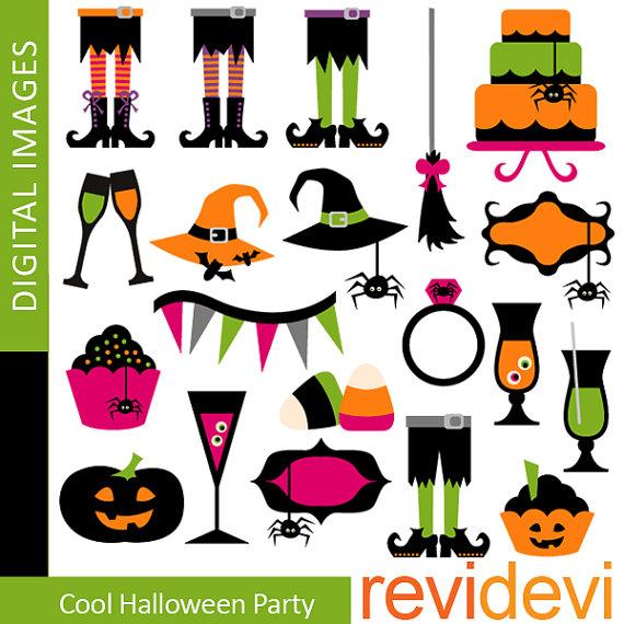 halloween party clipart-halloween party clipart-15