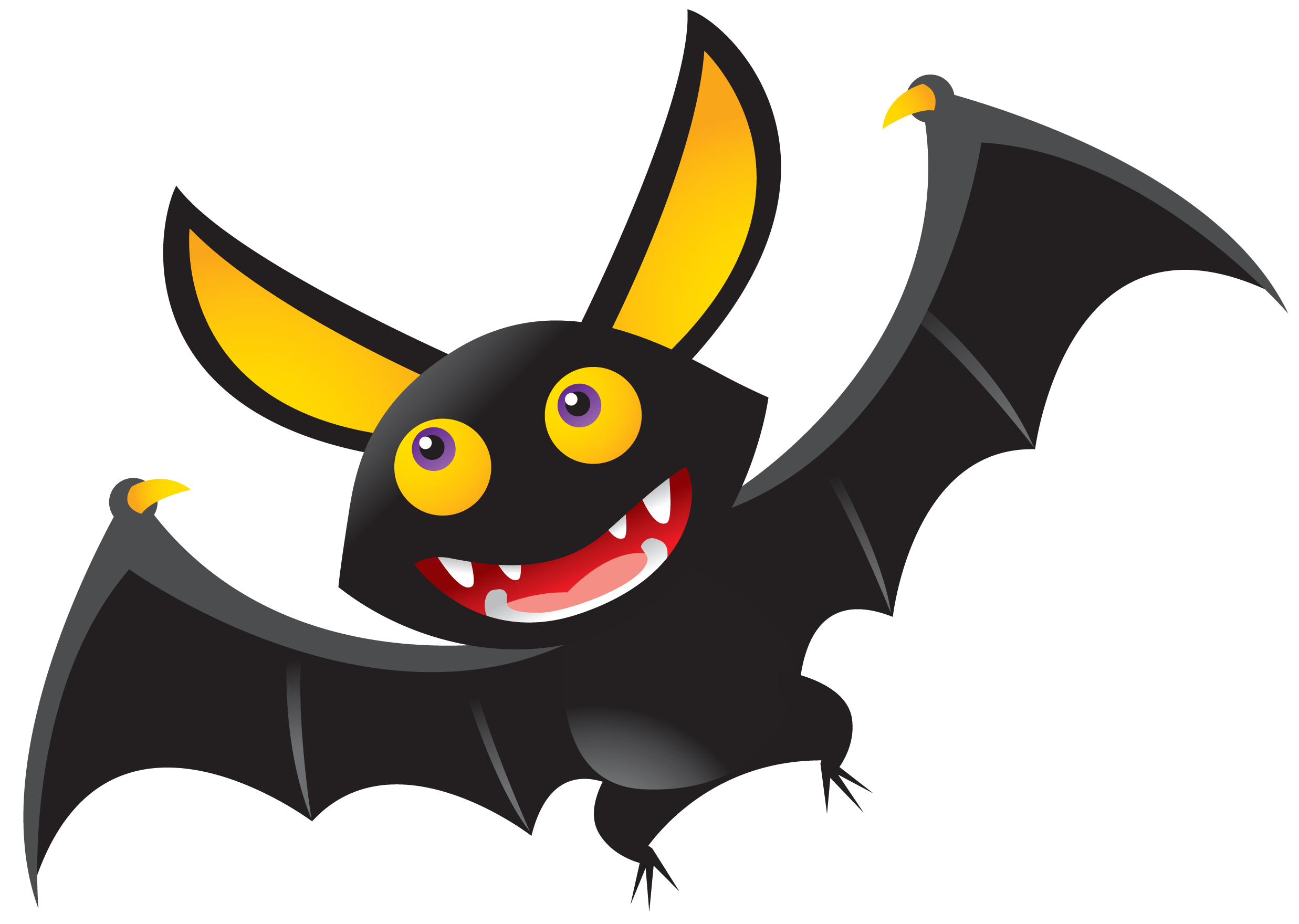 Halloween Bat Clipart Clipart Panda Free Clipart Images