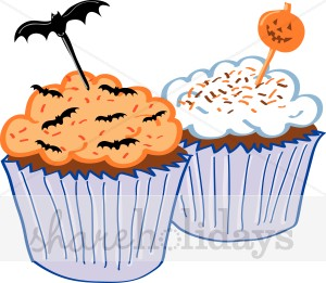 Halloween Birthday Clipart .