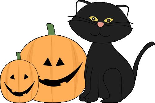 Halloween Black Cat And Jack O Lantern-Halloween Black Cat and Jack O Lantern-8