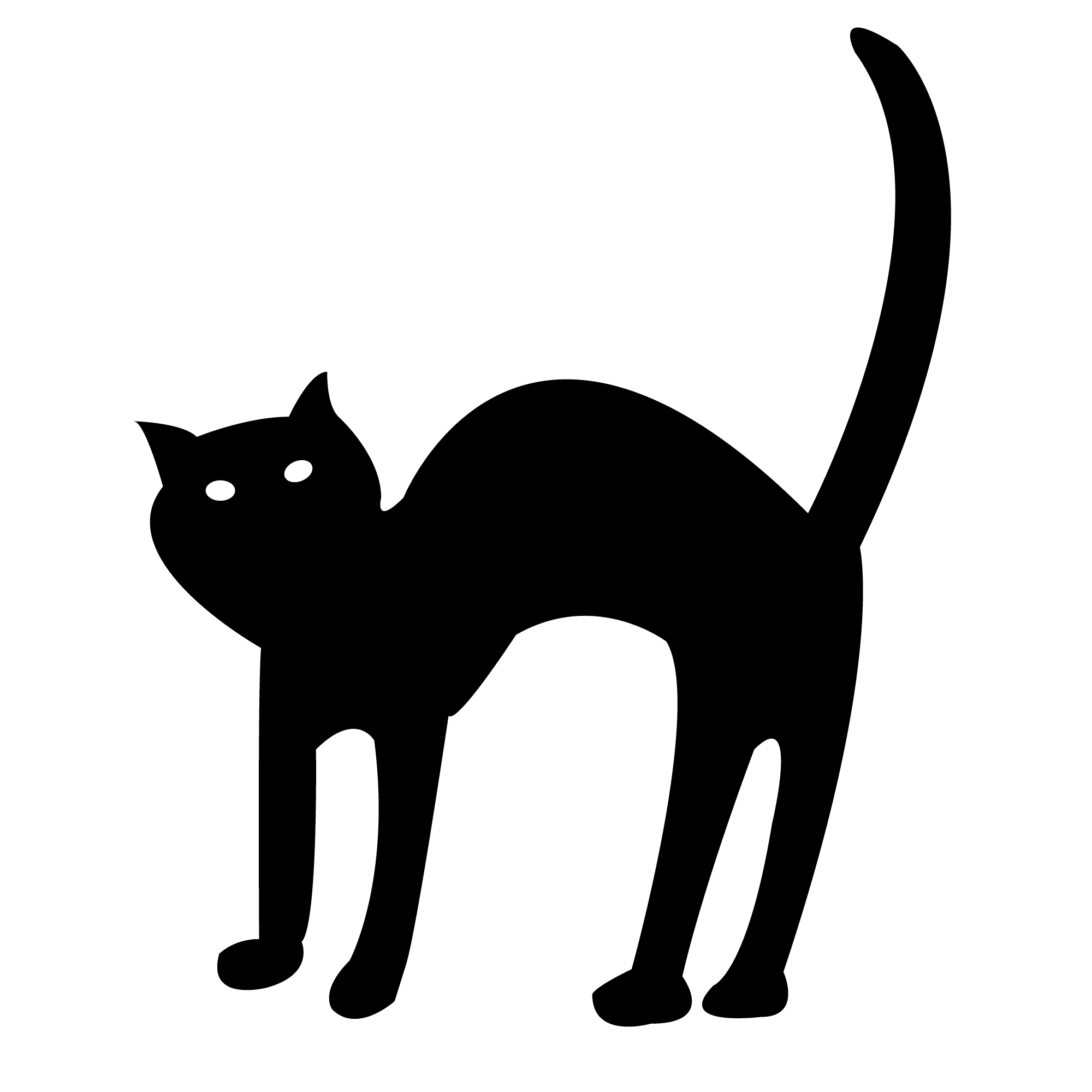 Halloween Black Cat Clipart Clipart Pand-Halloween Black Cat Clipart Clipart Panda Free Clipart Images-9