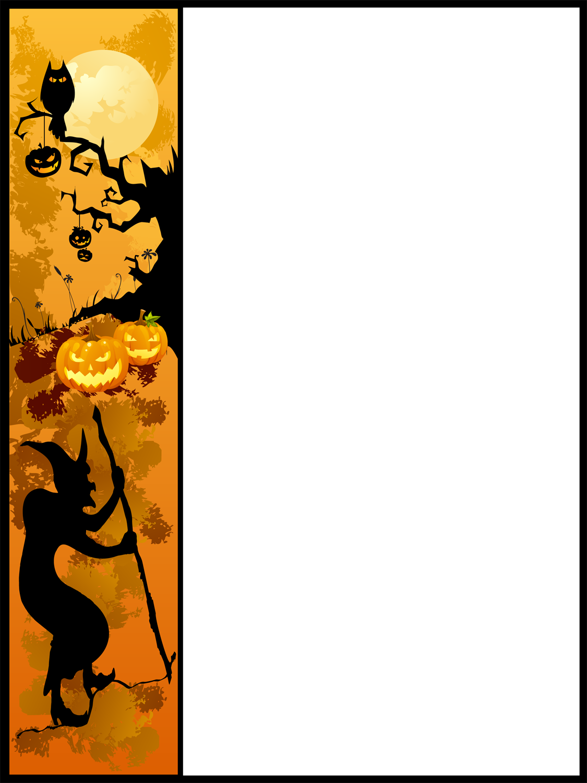 Halloween Border Clip Art Free Free Clip Art Halloween