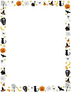 Halloween Border Featuring-Halloween Border Featuring-4