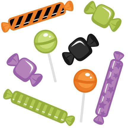 Halloween Candy Set Svg Cutting Files Halloween Svg Cuts Free