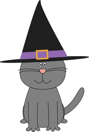 Halloween Cat clip art image. A free Halloween Cat clip art image for teachers, classroom lessons and activities, web pages, scrapbooking, blogs, and more.