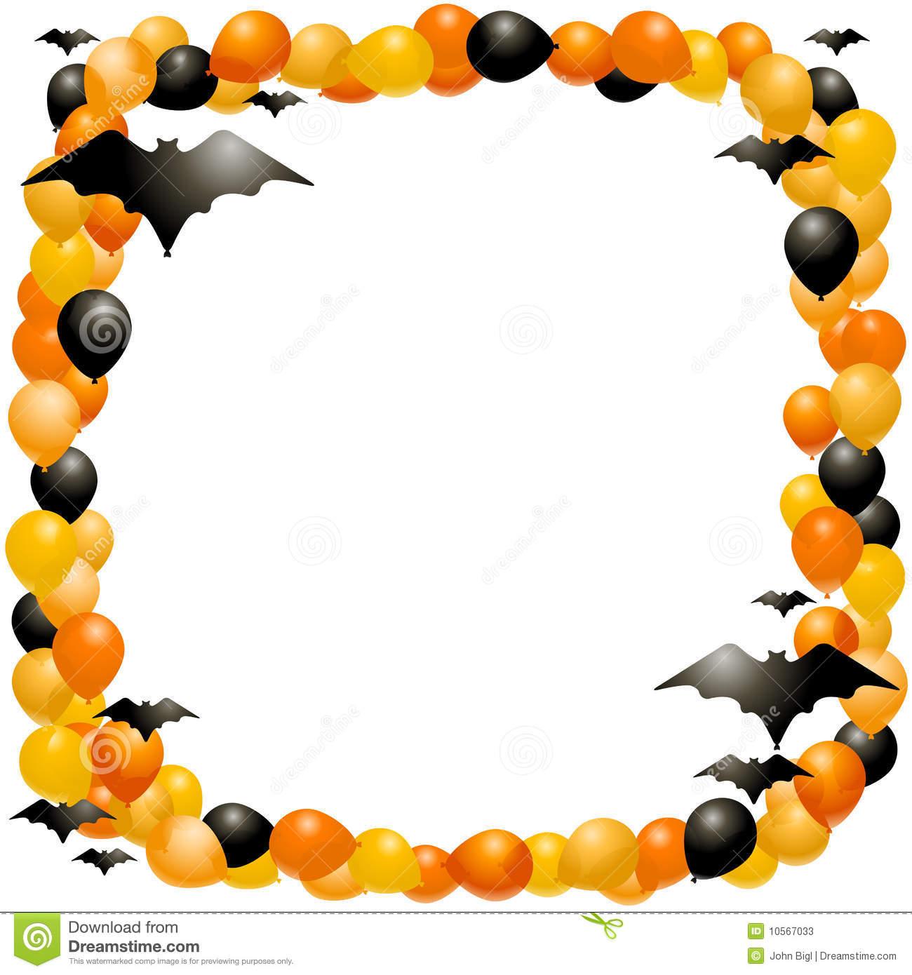 Halloween Clip Art Borders .
