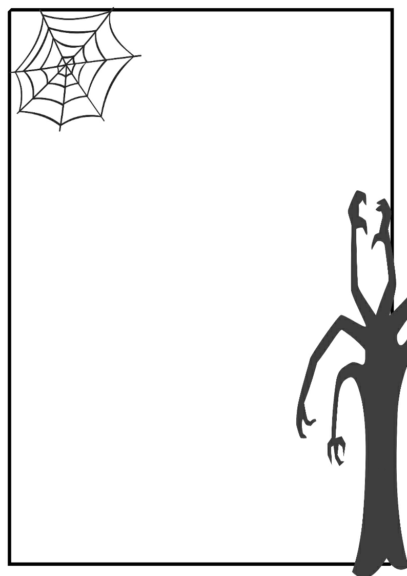 Halloween Clip Art Borders -  - Free Halloween Clip Art Borders