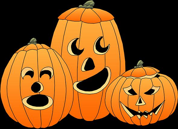 Halloween Clip Art Cute Pumpkin Very Happy Calendar Holidays And