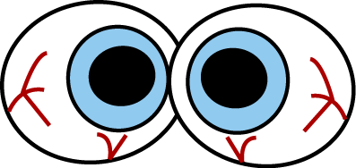 Halloween Clip Art Spooky Eyes