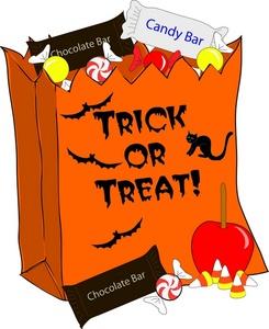 Halloween Clip Art Trick or Treat