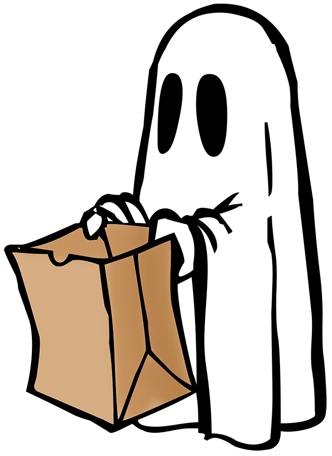 Funny Happy Halloween Clipart #1