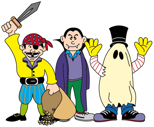 Halloween Costume Clip Art