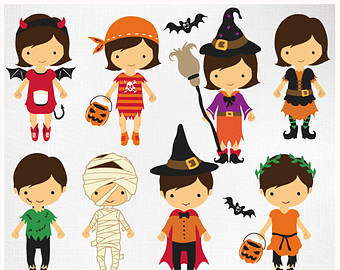 Halloween Costume Party Clipart Hallowee-Halloween Costume Party Clipart Halloweenfunky Com-11
