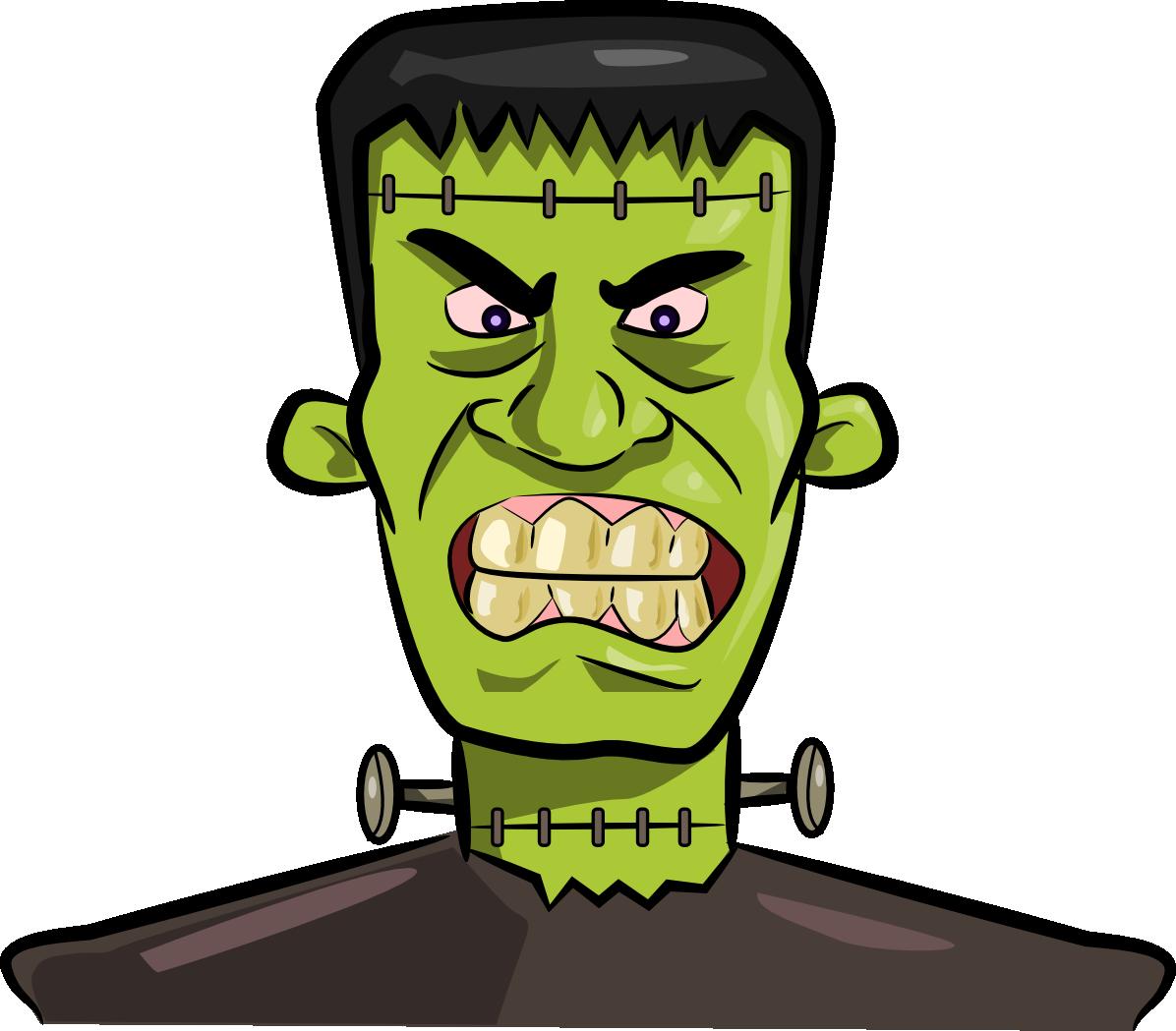 Halloween frankenstein clipart kid 4