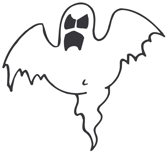 Halloween Ghost Border Clipart | Clipart library - Free Clipart Images