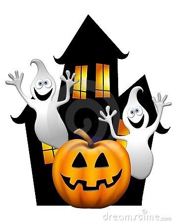 Halloween Haunted House Clipart - Clipart Kid