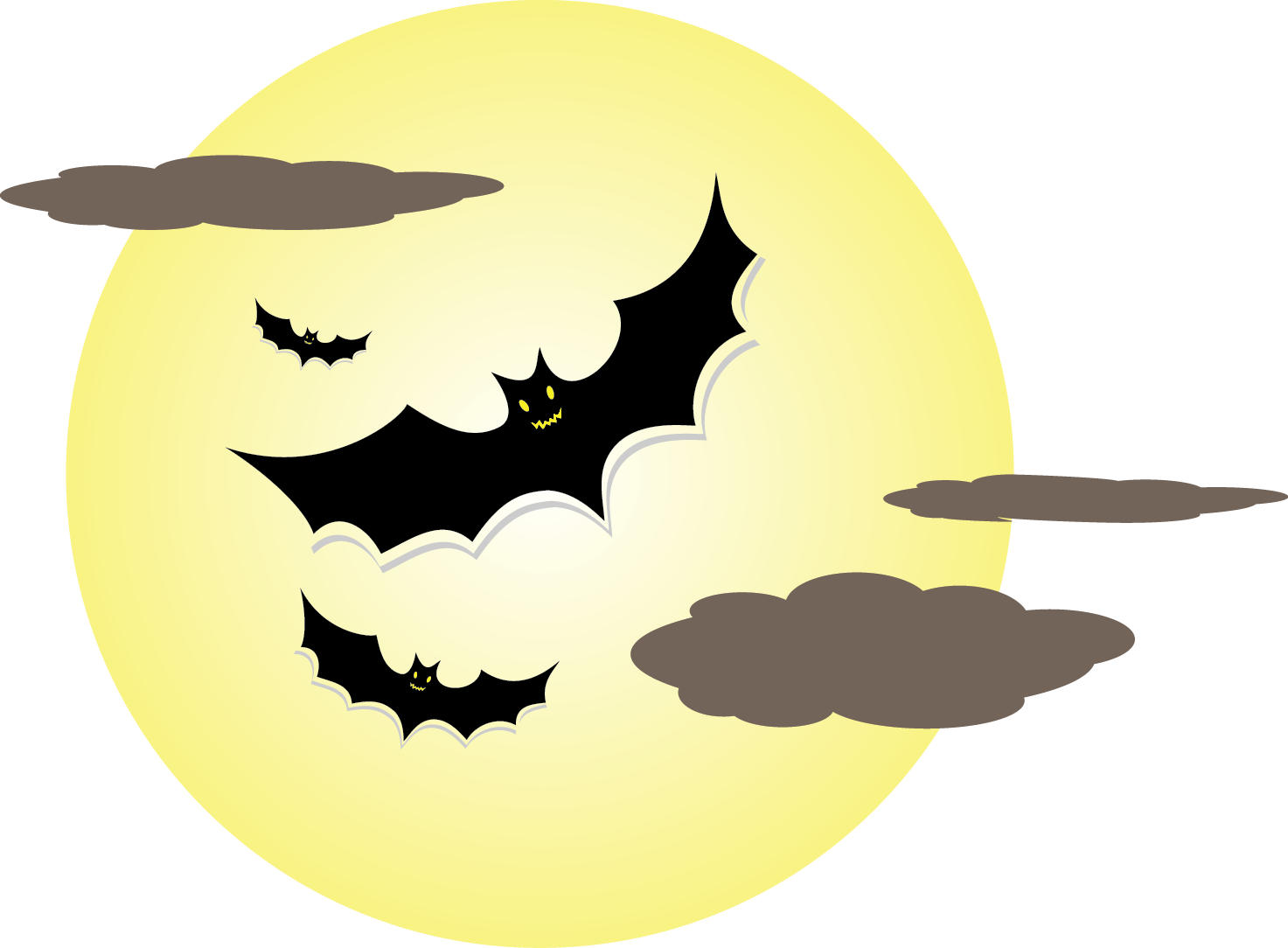 Halloween Moon Pictures . This Clip Art -Halloween Moon Pictures . This clip art of bats over a .-13