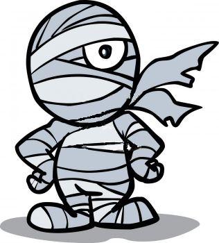 Halloween mummy clipart 2 - Mummy Clip Art