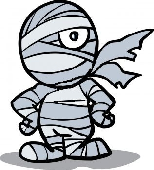 Halloween mummy clipart 2 - Mummy Clipart