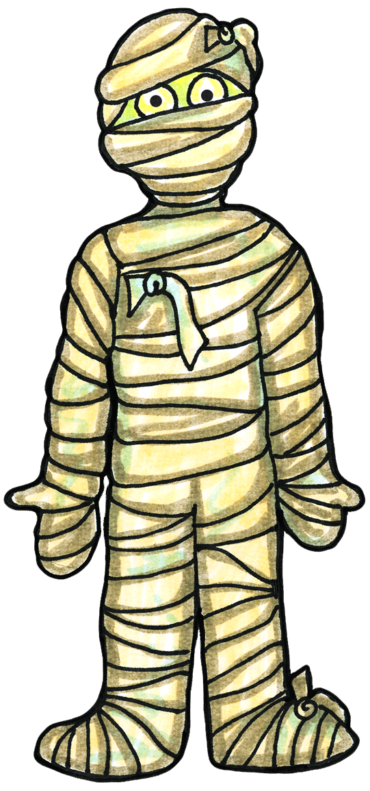 Halloween mummy clipart 6 - Mummy Clipart
