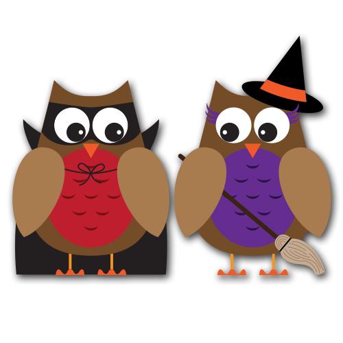 Halloween Owl Clipart 2 .-Halloween owl clipart 2 .-10