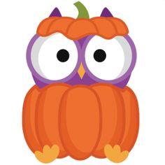 Halloween Owl In Pumpkin More-Halloween Owl In Pumpkin More-13