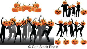 Halloween Party Stock Illustrationby ...