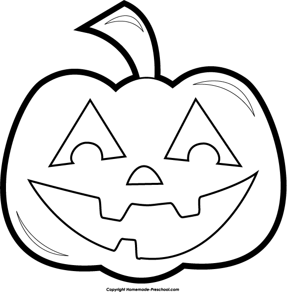 Halloween Pumpkin Clip Art Black And White Car Pictures