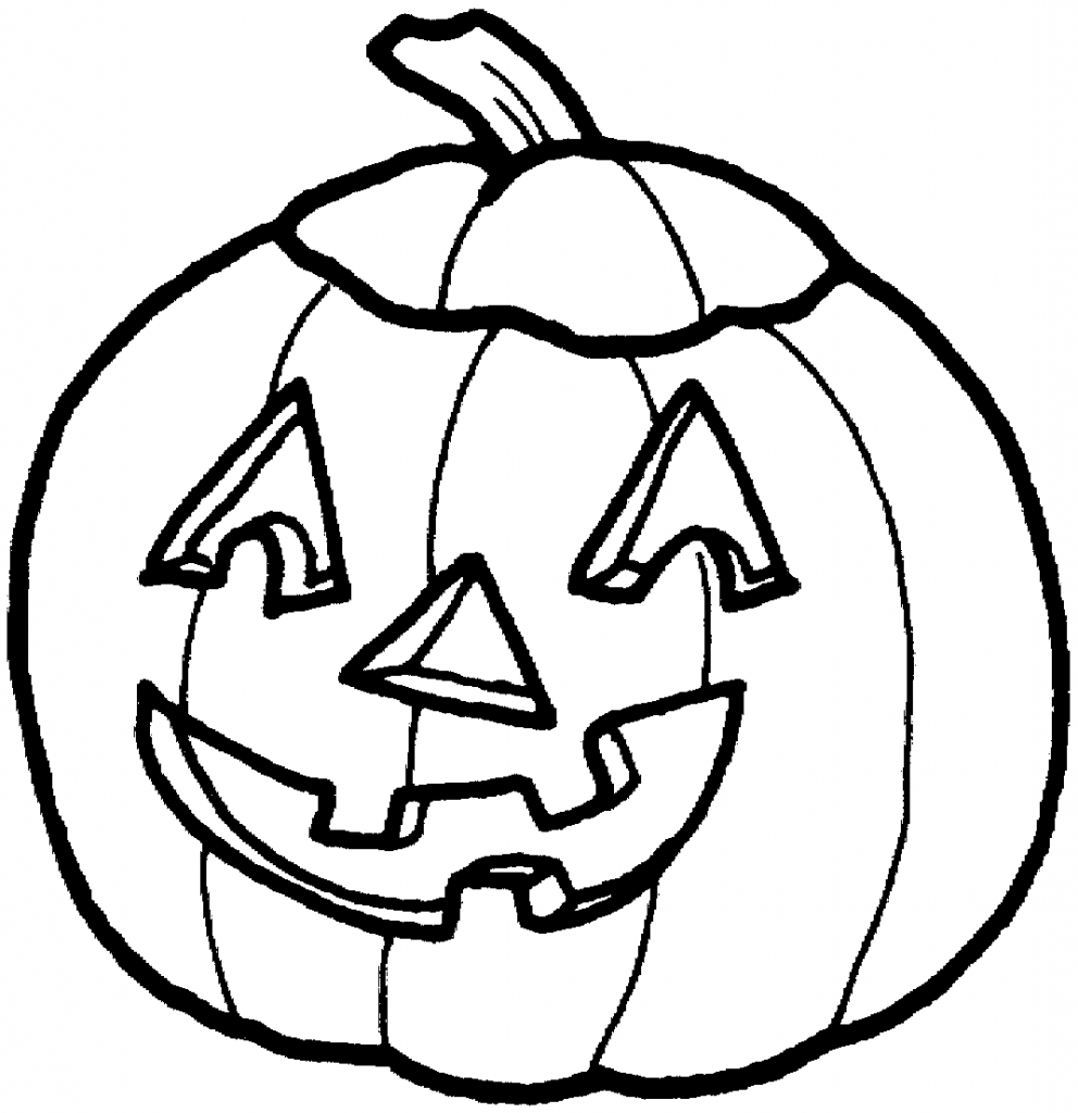 Halloween Pumpkin Clipart Black And Whit-Halloween Pumpkin Clipart Black And White Hvgj-9