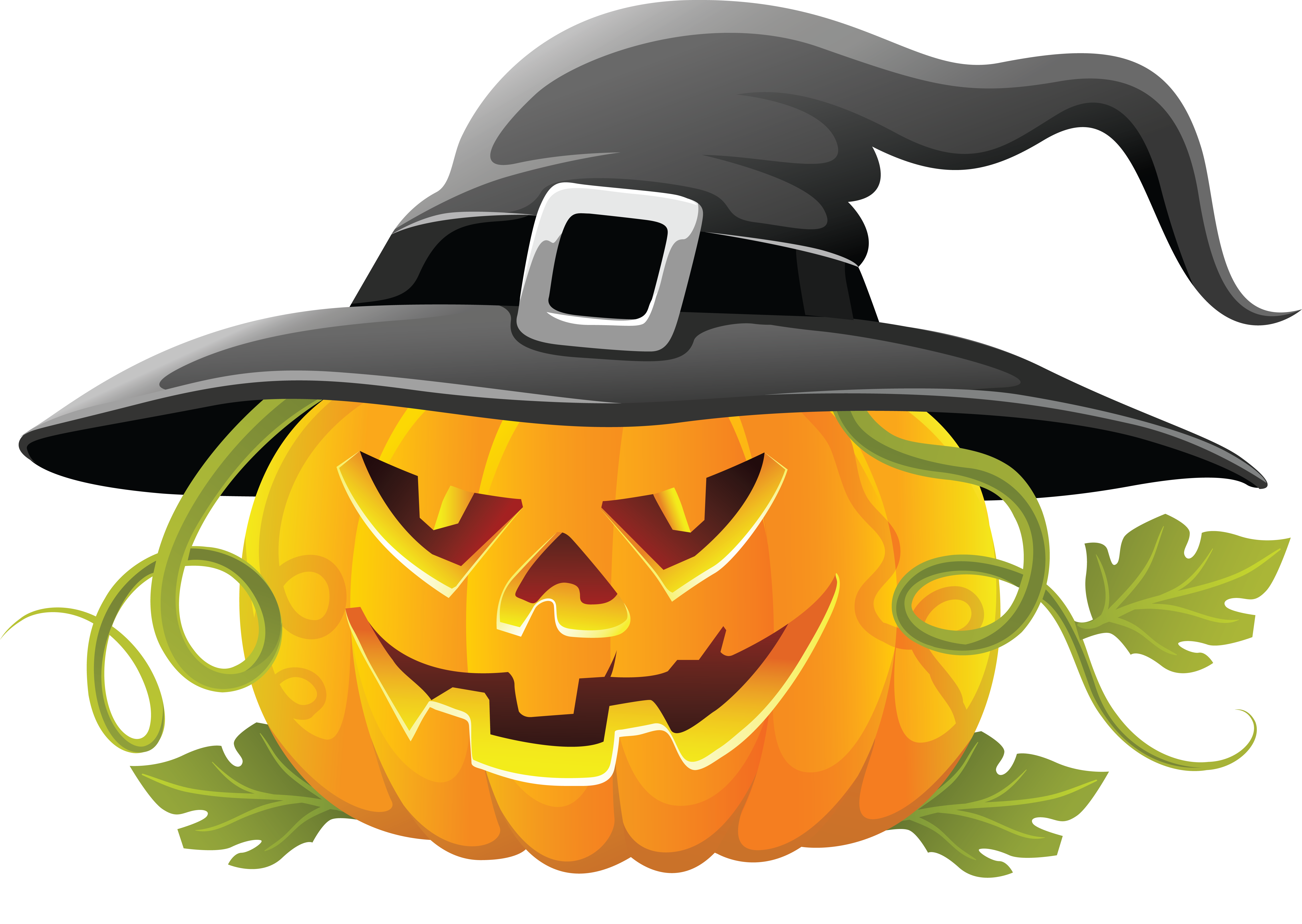 Halloween Pumpkin Clipart .