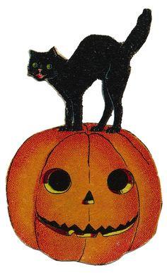 Halloween Vintage Clip Art On ..-Halloween Vintage Clip Art On ..-7