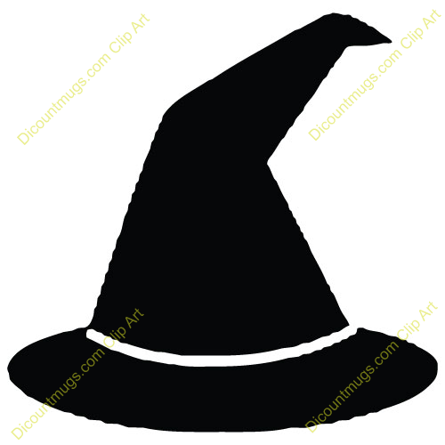 Halloween Witch Hat Clipart Hat Witch Bl-Halloween Witch Hat Clipart Hat Witch Black-6