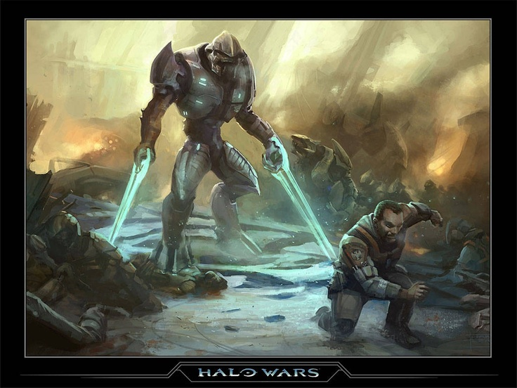 Halo Wars Clipart energy sword