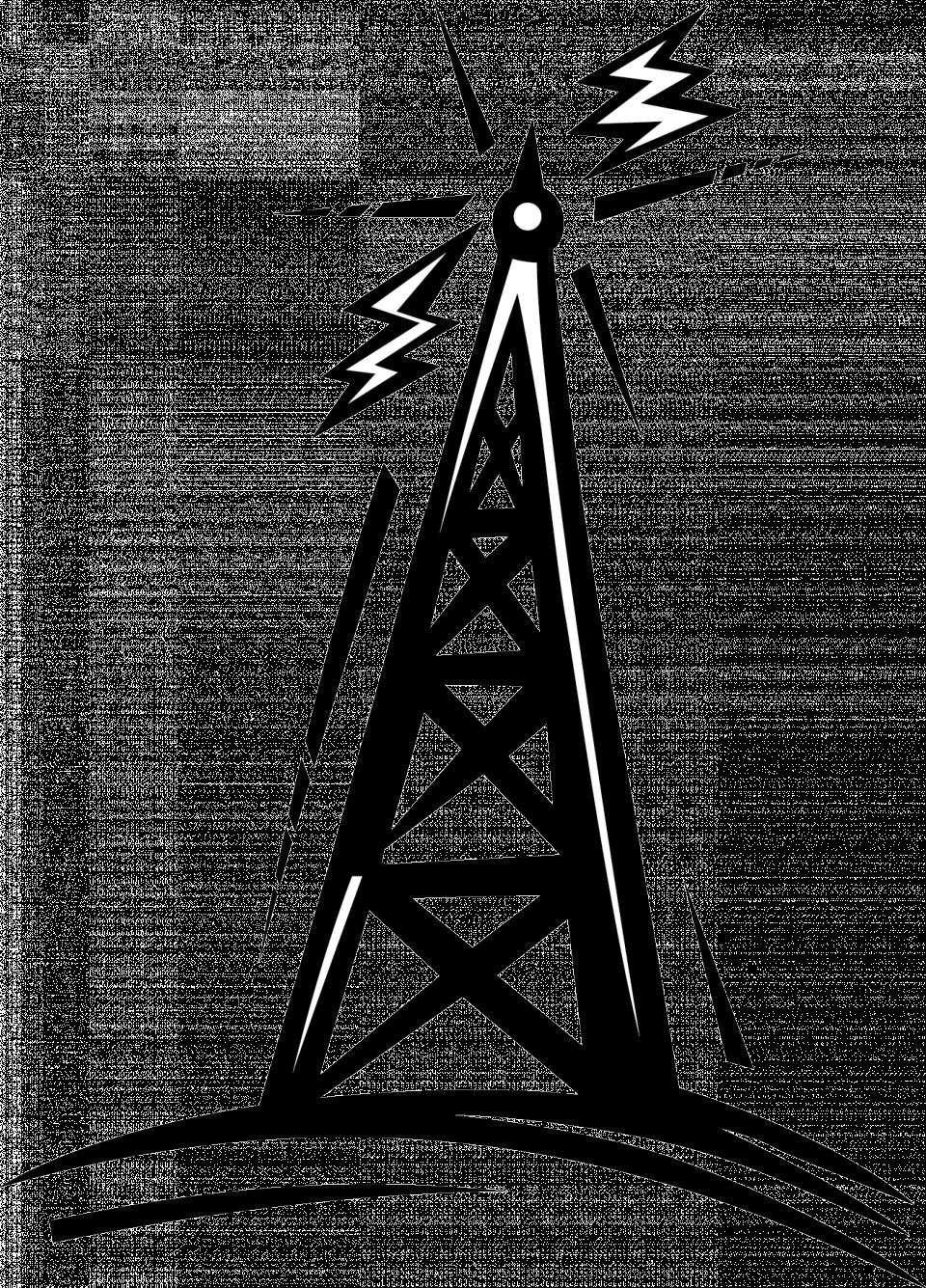 38+ Radio Tower Clip Art | ClipartLook