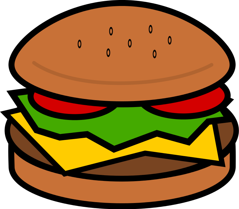 Hamburger Clip Art Images Free For Comme-Hamburger Clip Art Images Free For Commercial Use-7