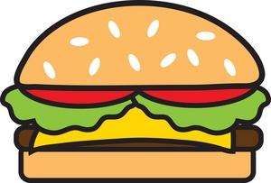 Hamburger Clipart-hamburger clipart-11