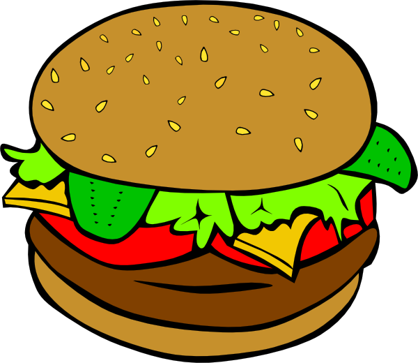 hamburger clipart-hamburger clipart-0