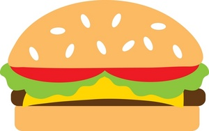 Hamburger Clipart-hamburger clipart-7