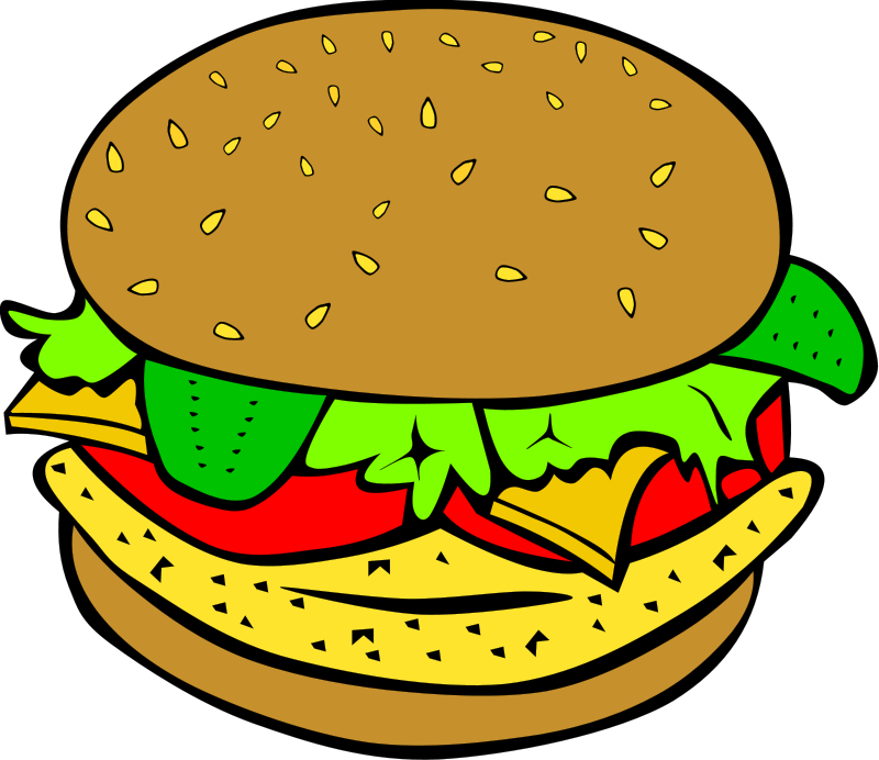 Hamburger Royalty FREE Food Clipart Imag-Hamburger Royalty FREE Food Clipart Images | Food Clipart Org-16