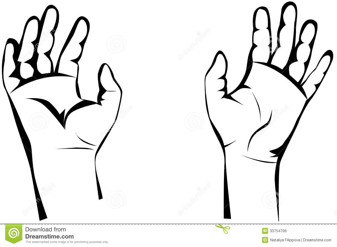 Counting Hands Clipart Etc