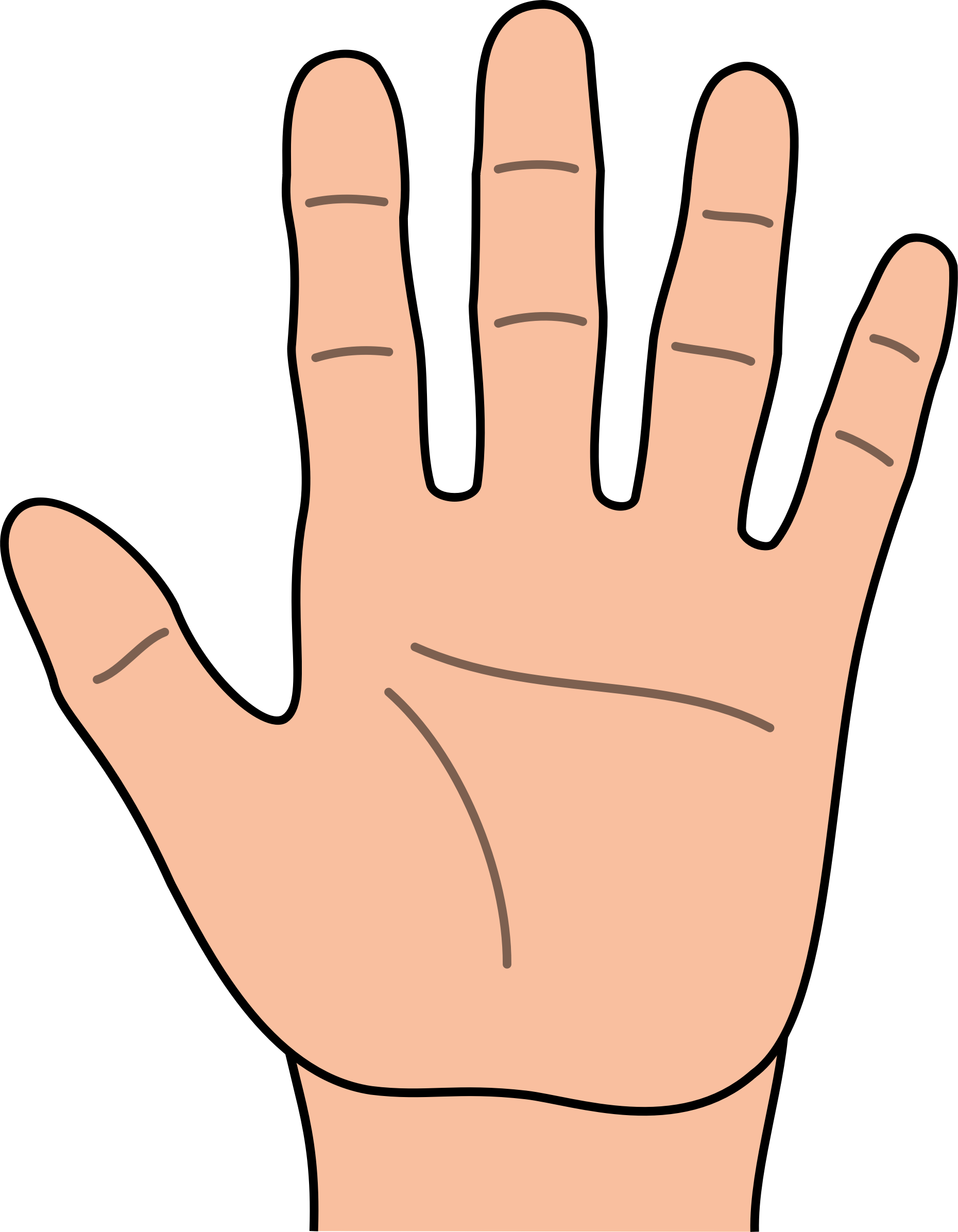 Hand Clip Art U0026middot; Hand Clipart-Hand Clip Art u0026middot; hand clipart-6